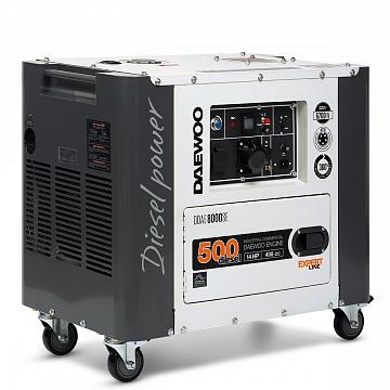 Agregat prądotwórczy diesel DAEWOO DDAE 8000SE