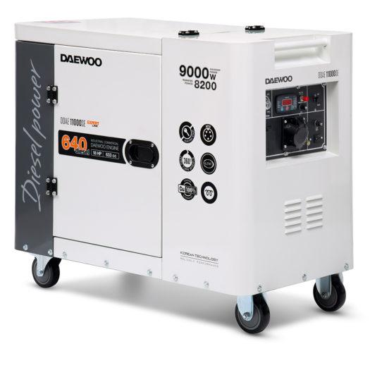 Agregat prądotwórczy diesel DAEWOO DDAE 11000SE