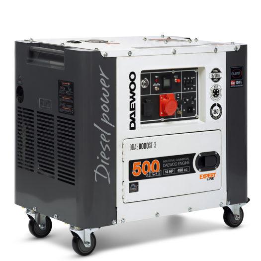 Agregat prądotwórczy diesel DAEWOO DDAE 8000SE-3