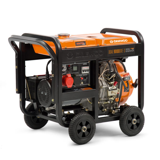 Agregat prądotwórczy diesel DAEWOO DDAE 9000DXE-3 (dual 380 V/ 230 V)