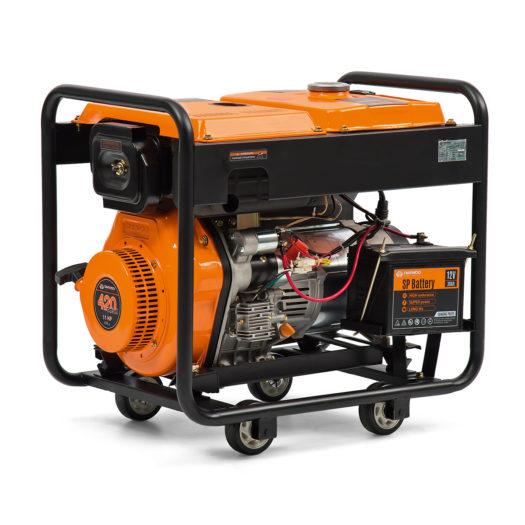 Agregat prądotwórczy diesel DAEWOO DDAE 6000XE