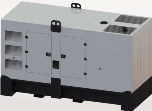 Agregat prądotwórczy FDG 135 I3 draft
