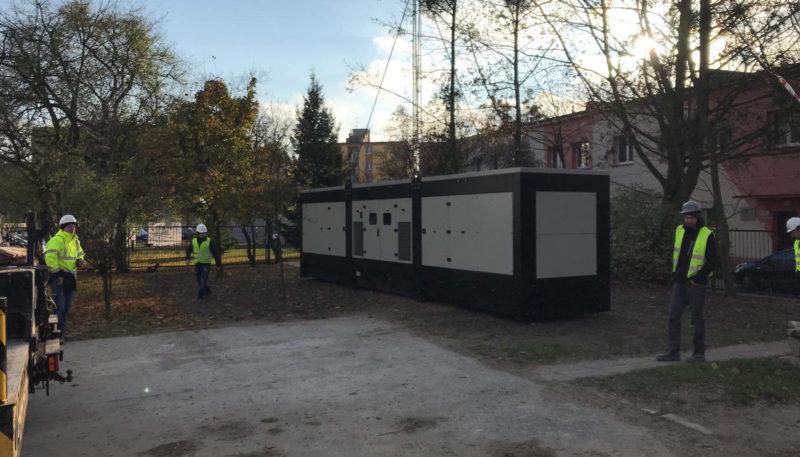 Realizacja dla Szpitala im. dra Romana Grzeszczaka