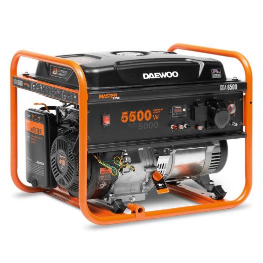 Agregat prądotwórczy benzynowy DAEWOO GDA 6500